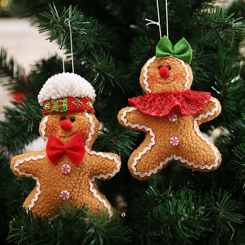 New Gingerbread Man Christmas Small Decoration Christmas ...