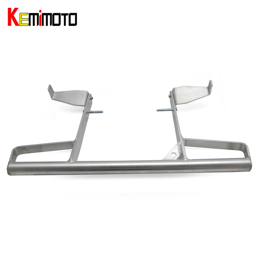 KEMiMOTO Wide Grab Bar for YAMAHA RAPTOR 700R 700 R 700R SE ALL YEARS Rear Pasanger Grab Bar Goods Shelf Aluminum Silver kemimoto for yamaha raptor 700 billet aluminum atv front lowering kit and rear lowering kit silver