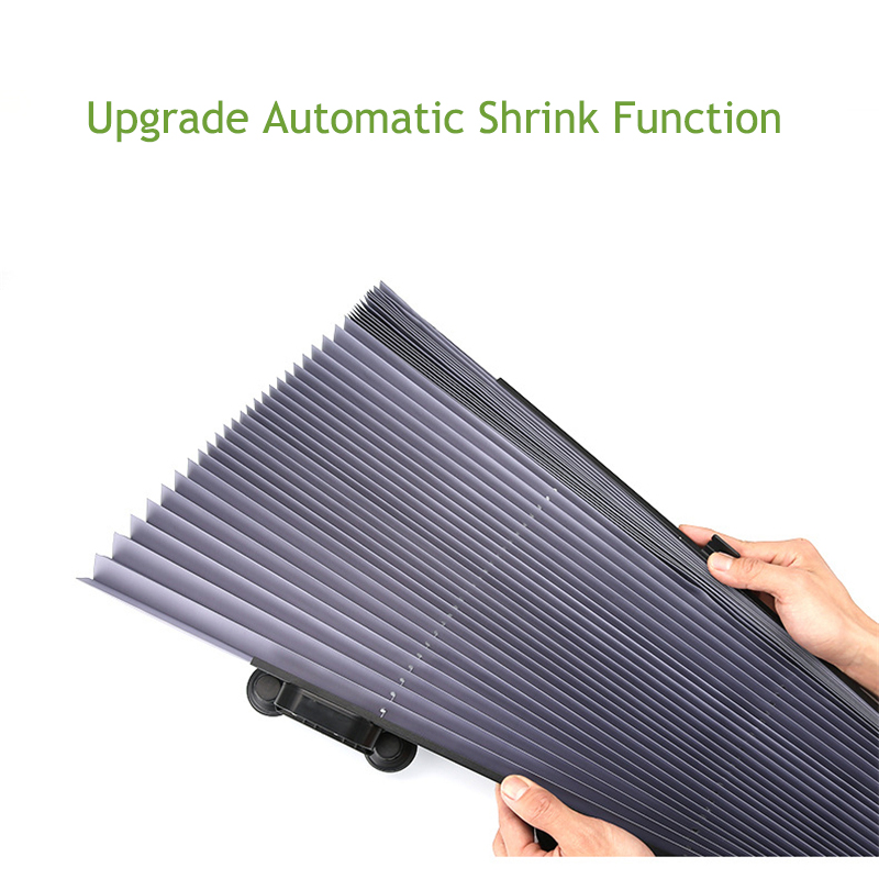Image 5 - Car Retractable windshield Sun Shade Block sunshade cover Front Rear window foil Curtain for Solar UV protect 46/65/70cm-in Windshield Sunshades from Automobiles & Motorcycles