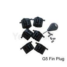 Surfboard Fin Plug Plastic FCS G5 Fins Box Free Shipping