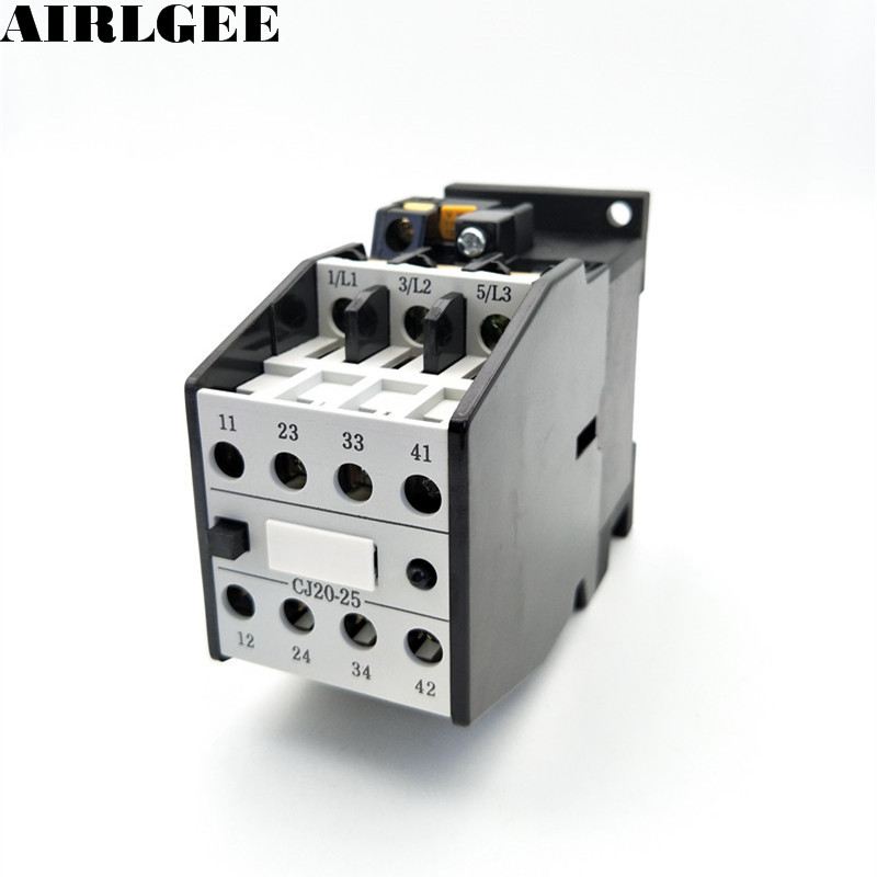 CJ20-25 Motor Control 25A AC Contactor 3-Pole 2NC + 2NO 24V 36V 110V 220V,380V Coil Voltage 5314 2rs bearing 70 x 150 x 63 5 mm 1 pc axial double row angular contact 5314rs 3314 2rs 3056314 ball bearings