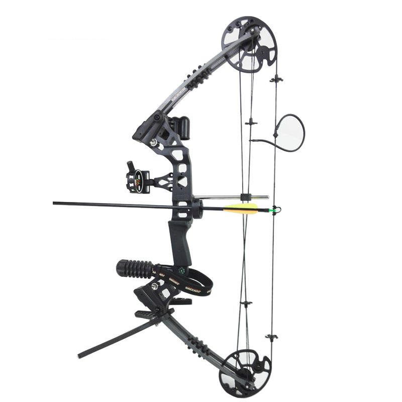 20-70lbs Archery Compound Bow Set Right Hand Hunting Compound Bow and Peep Accessories Sight Stabilizer Arrow Rest Sling Quiver видеорегистратор artway av 711 av 711