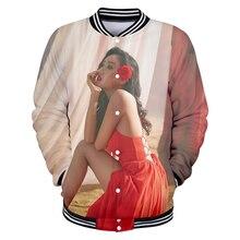 deaaf6a616 MAMAMOO ídolo 3D imprimir chaqueta de béisbol básica Popular cómodo alta calle  Hipster moda Casual clásico