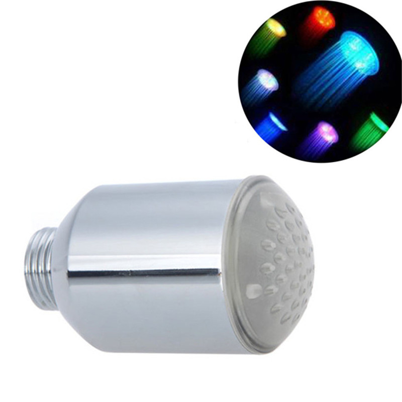 100 pcs LED Faucet Changing Water Shower Head Kitchen Bathroom Multicolor Glow LED Light Faucet Aerator in 20mm