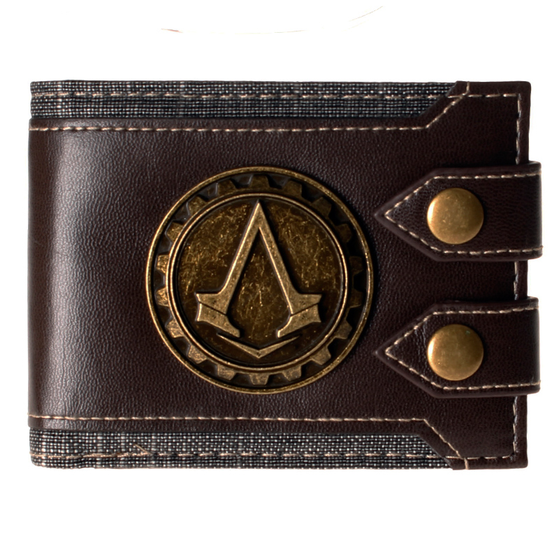 Assassins creed wallets DFT-1479 assassins creed wallet dft 1918