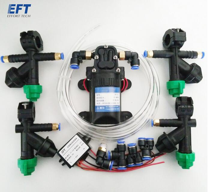 Agricultural drone spray system accesorries nozzle,Water pump Buck module, Pump governor, Adapter, Water pipes for 5L/10L/15L 3 inch gasoline water pump wp30 landscaped garden section 168f gx160 agricultural pumps