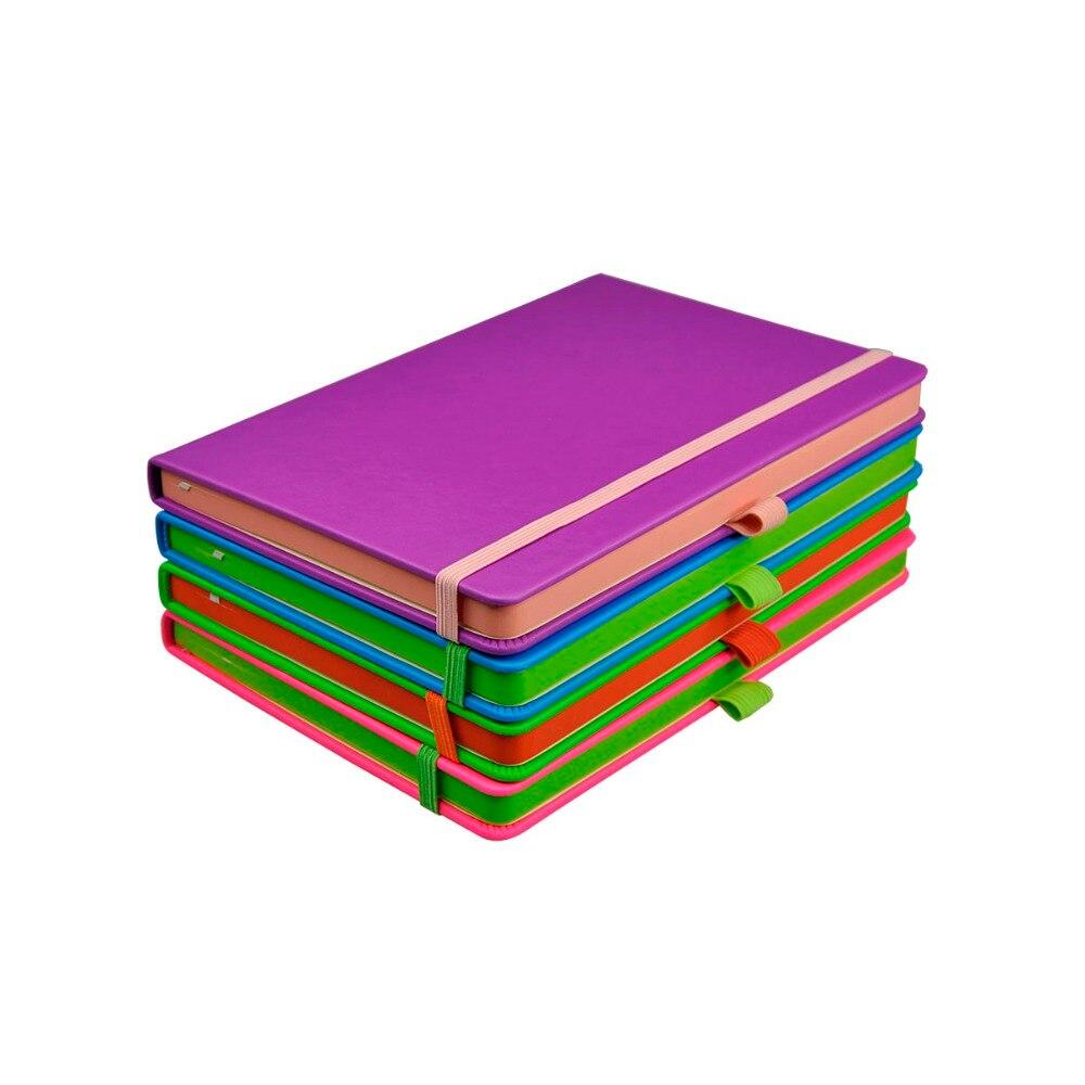 Venzi Hard Cover Neons Notebook Plain Blank Journal Caderno venzi hard cover neons notebook plain blank journal