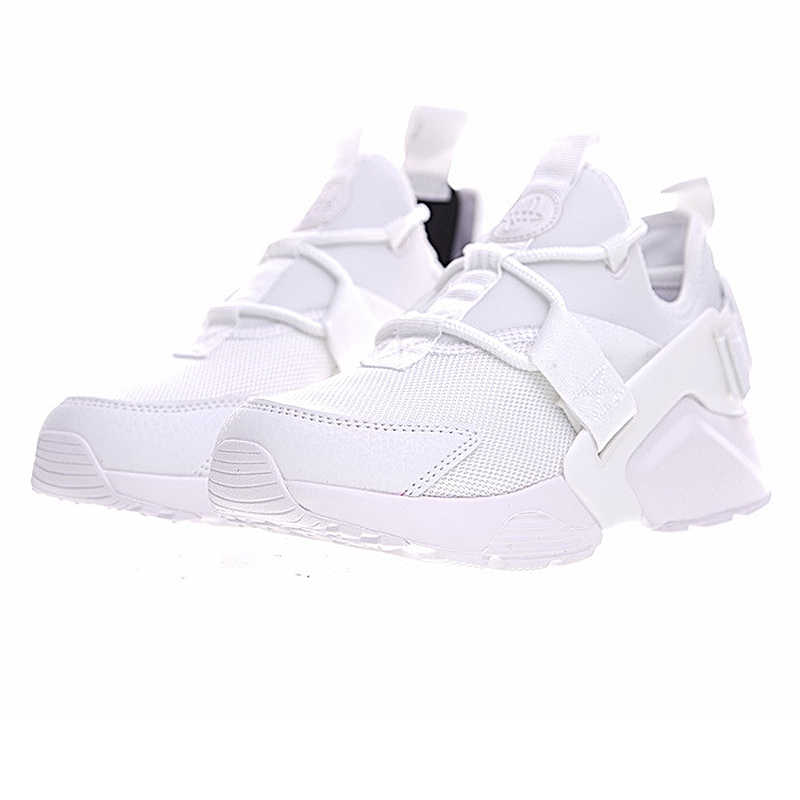 new arrival ee2f7 4788e White  Original Nike AIR HUARACHE CITY LOW Women s Running Shoes Sneakers.