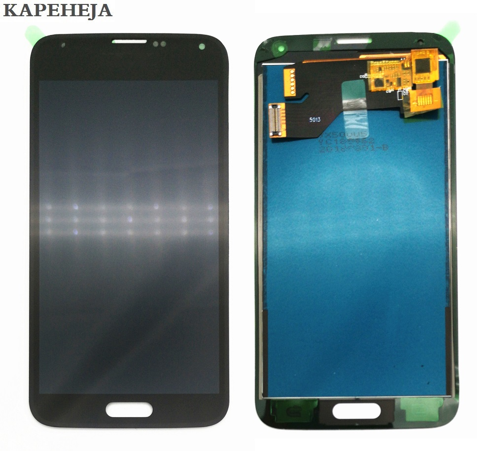 Can adjust brightness LCD For Samsung Galaxy S5 G900 G900F G900A G900T G900I LCD Display Touch Screen Digitizer Assembly(China)