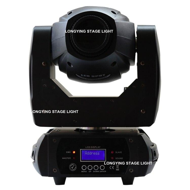 Free Shipping 2pcs/lot 68W Spot Light Stage Moving Head Light DMX512 Event Wedding KTV Bar Dj Light