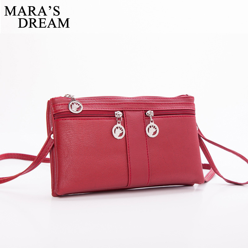 цена на Mara's Dream women bags women messenger bags high quality handbags shoulder bag feminina bolsas summer style purse bags 2018 New