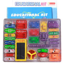 Creative Diy Electronic Building Blocks Students Children Physics Learning Early Education Toy Tool Educational Kit kids gift