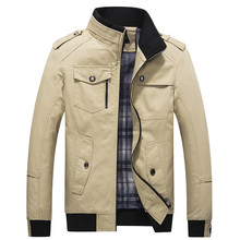 2018 Brand New Arrival Male Jacket Slim  High Quality Mens Autumn Clot