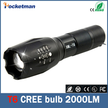 E17 CREE XM T6 3800LM tactical cree led Torch Zoom cree LED Flashlight Torch light linterna