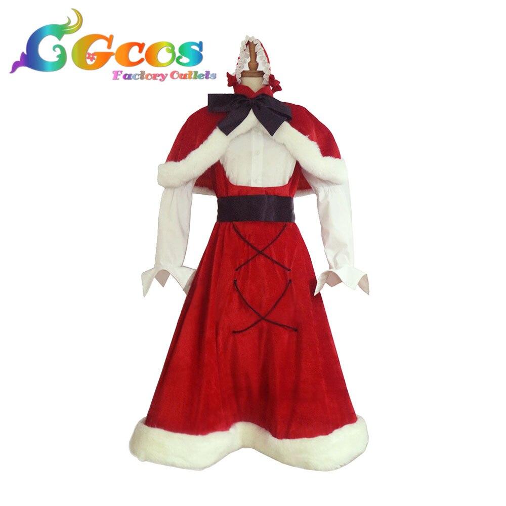 Cgcos Косплэй костюм трусики и чулки с Garterbelt Chritmas Coplay одежда форма костюм аниме платье костюмы настройки