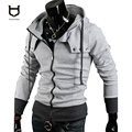 2016 Autumn man coat Classic jacket Men's Jacket hoodie jaqueta Fall Outerwear zippers Hoodie down Male COAT COTTON+POLY W20