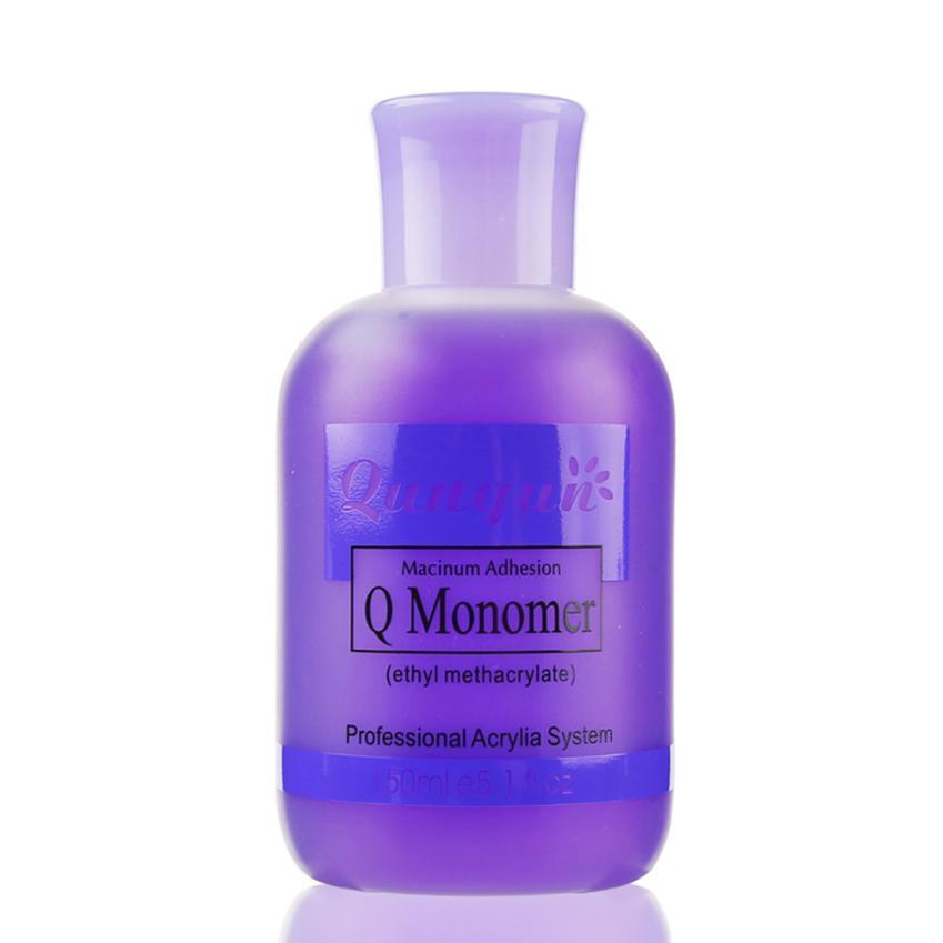 150ml Professional Nail Polish Q Monomer Acrylic Nail Liquid Crystal Liquid #F жидкость domix green professional nail gel polish remuver