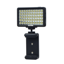 New Commlite CoMiray 50 Bulbs LED Video Mild for Cellphone DSLR MONOPOD Gopro Cameras