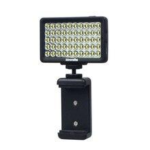 New Commlite CoMiray 50 Bulbs LED Video Light for Cellphone DSLR MONOPOD Gopro Cameras