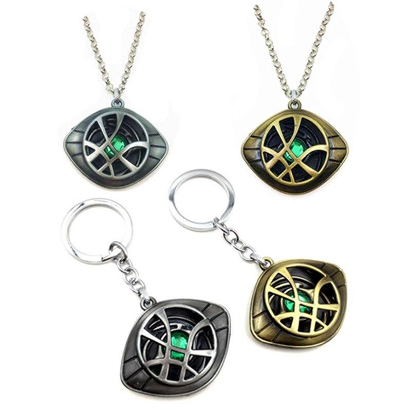 Мстители Альянс доктор Необычное Ожерелье Доктор Стрэндж с той же интимные аксессуары брелок с киногероем подарки