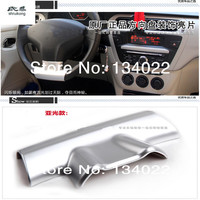 The car stickers of Chrome plated steering wheel decoration for Peugeot 301 and Citroen Elysee Free Shipping