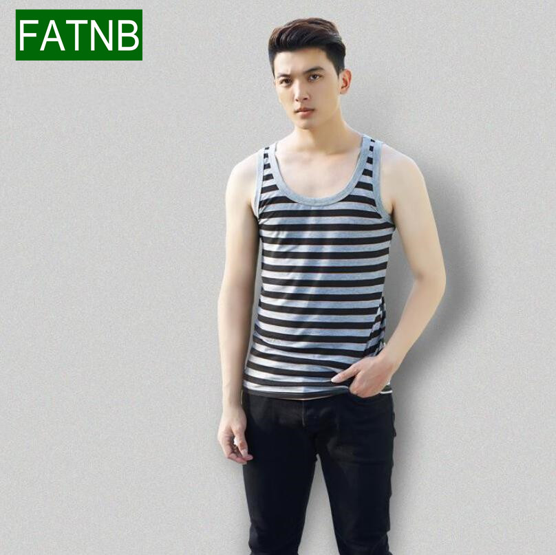 6b1320ef2ced41 Plus Size 3XL Brand Tank top men clothing bodybuilding and fitness cotton  knitted sleeveless muscle T shirt printing