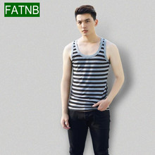 Plus Size 3XL Brand Tank top men clothing bodybuilding and fitness cotton knitted sleeveless muscle T shirt printing