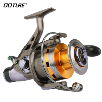 Goture KS Series Spinning Fishing Reel Double Drag Wheel Metal Spool Carp Reel 5 2 1