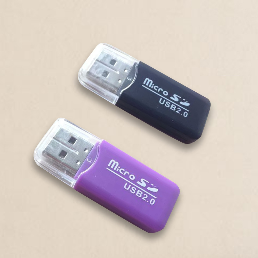 2 Stücke Kartenleser Für Laptop Usb 2.0 Micro Sd Sdhc Tf Flash Memory Card Reader Mini Adapter Drop Verschiffen L1026 #2