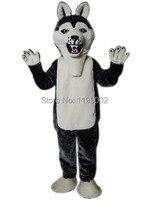 Venda quente de moda de nova bonito dos desenhos animados do lobo mouse lindo Traje Da Mascote para o Adulto Fancy Dress Festa Halloween Costume