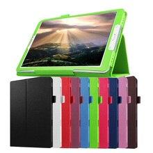 Alta Calidad de LA PU Cubierta de Cuero Para Samsung Galaxy Tab 9.7 T550 T555 Tablets Caso Para Galaxy Tab 9.7 S-pen Versión P550 P555