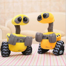 High quality new hot 25cm plush doll robot toys for children birthday gift free shipping m161