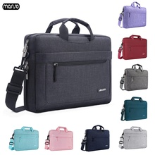 цена на MOSISO Waterproof Laptop Bag Briefcase 11 12 13.3 14 15 17.3 inch Notebook Shoulder Bag Men Women For new MacBook Air 13 Pro 15