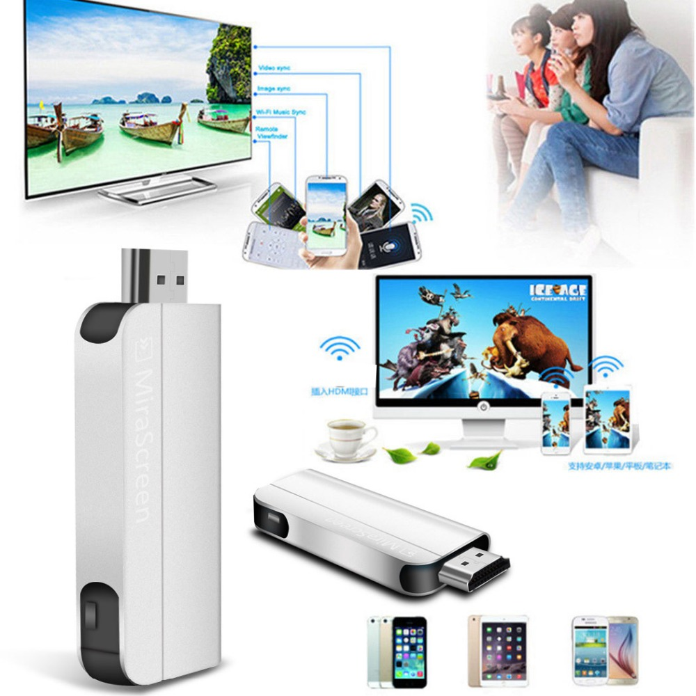 Wireless Wifi HDMI Dongle Airplay Screen Phone To TV Adapter For IPad IPhone 11 8 X Samsung S9 S10 For Huawei P20 XIAOMI Android