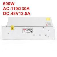 15PCS 600W 48V power supply 48V 12.5A 600W AC DC High Power PSU 600W S 600 48