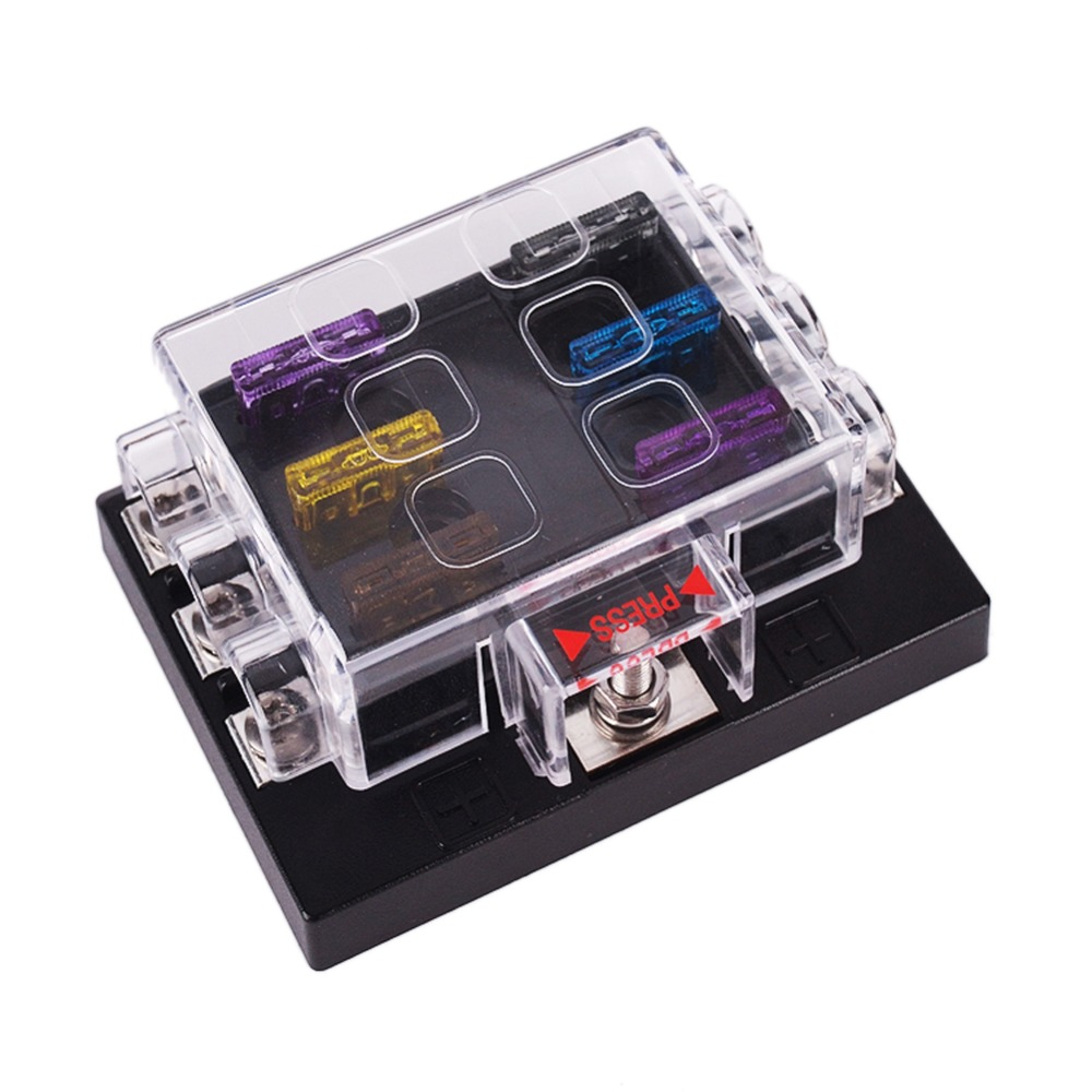 How To Add A New Circuit Car Fuse Box Ask Answer Wiring 6 Way Insert Block Holder For Automotive Auto Atc Ato High Quality
