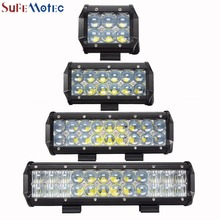 SufeMotec 5D 30W 60W 90W 120W LED Work Light Bar for Tractor Boat Off-Road 4WD 4×4 Truck ATV SUV LED Driving Headlight 12V 24v