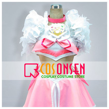 COSPLAYONSEN Suite PreCure Hibiki Hojo Cure Melody Cosplay Costume Dress(China)