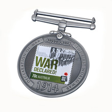 customized military war medals hot sales metal service cheap custom