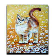 Round 5d Diamond Painting Cross Stitch Full of Photos of Crystal Icons Mosaic DIY Diamond Embroidery Daisy Cat House nicefeel dental flosser water jet oral irrigator 1000ml dental irrigator oral hygiene care oral flossing teeth cleaner irrigator