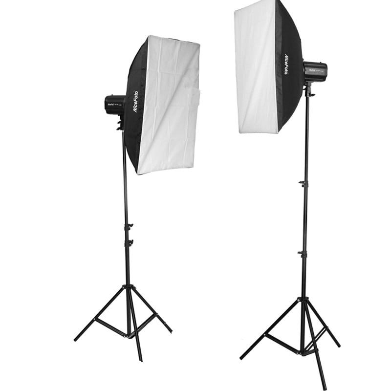 small studio lighting. photography lighting kit kt407 mini studio flash 180w 2m light stand 50x70cm softbox for small w