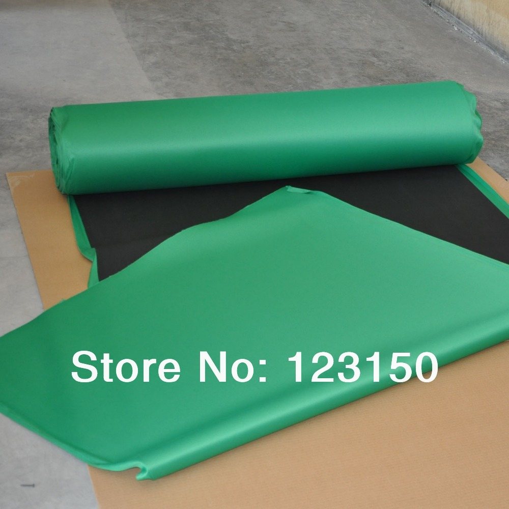ФОТО ZB-032  Green Rubber Layout, Width 1.3M, Price for per meter