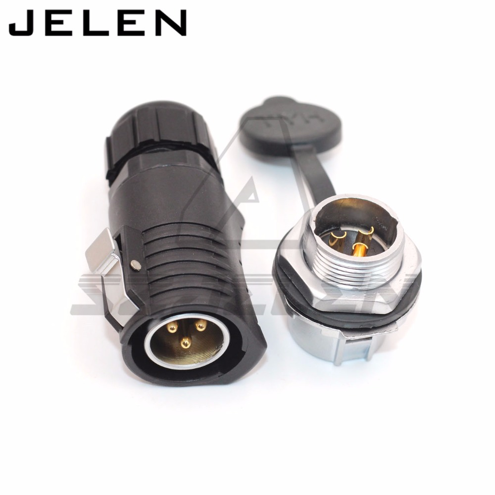 XHE20, 3 pin Waterproof connectors, aviation plug socket connector, ip55, 3pin outdoor male female welding waterproof connector m12 aviation plug 8pins stragiht female or male plugs sensor connector socket connectors