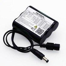 VariCore 12 v 2600 mAh 18650 Li ion şarj edilebilir pil Paketi için 35 W LED Lamba güvenlik kamerası DC fiş 5.5*2.1 MM