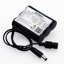 VariCore 12 v 2600 mAh 18650 Li ion batterie Rechargeable pour 35W lampe LED CCTV caméra prise cc 5.5*2.1MM