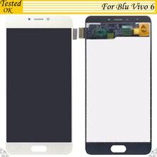 Белый Черный Золото Цвет для Blu Vivo 6 ЖК дисплей экран дисплея + сенсорный экран планшета 100% тестирование работы сборки