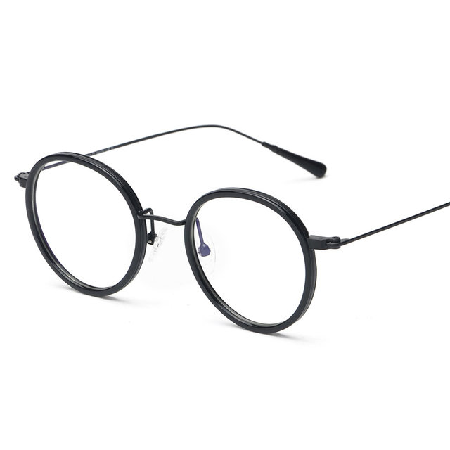 Online Shop Vazrobe TR90 Small Round Glasses Men Women white ...
