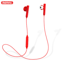Remax RB-S9 Bluetooth Headset Sport Wireless Earphone For  iPhone Xs max XR X 8 7 6 8s 7s plus 5 SE 6s Bluetooth Earphone цена и фото