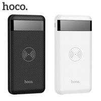 HOCO power bank 10000 mAh Portable quick charge power bank Dual USB Wireless Mobile Phone Battery Charger External Battery Pack
