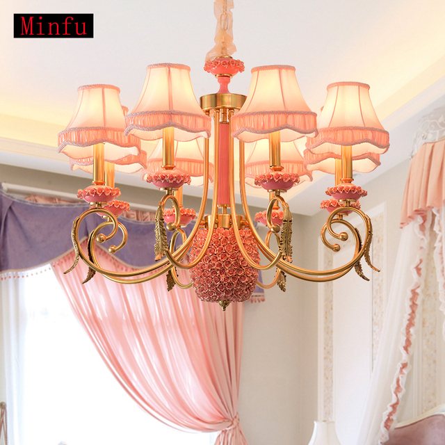 European style copper ceramic chandelier nordic villa living room european style copper ceramic chandelier nordic villa living room lights childrens bedroom restaurant chandeliers study lamps aloadofball Gallery